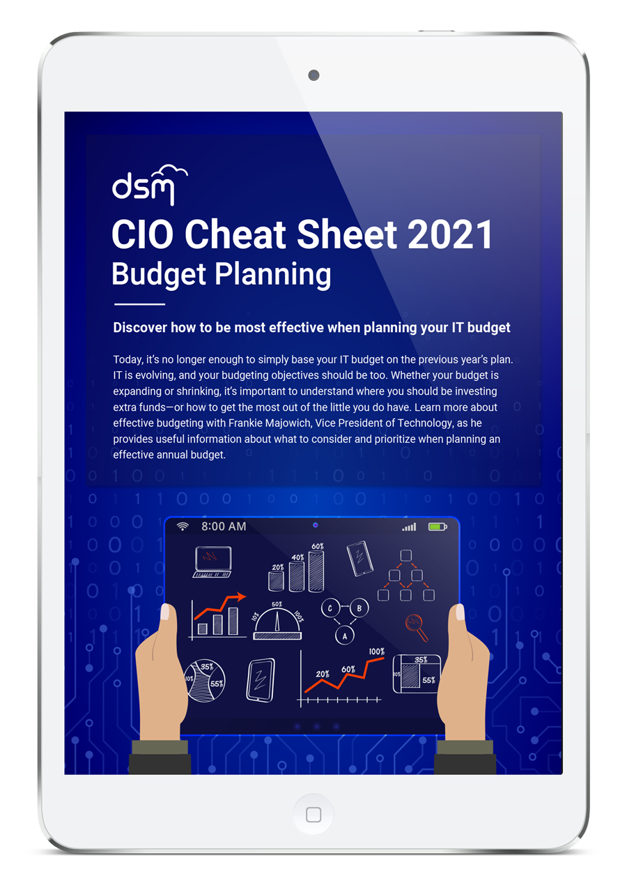 CIO Cheat Sheet: Budgeting & Planning for 2019
