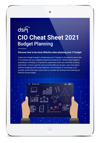 2019 CIO Budget Planner Cheat Sheet - Featured Image