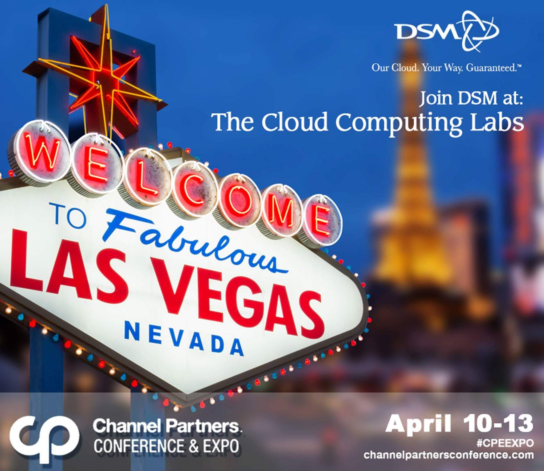 DSM Attending Channel Partners Conference - Featured Image