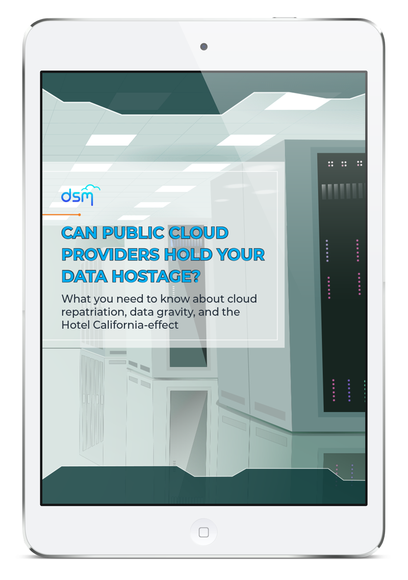 Can Public Cloud Providers Hold Your Data Hostage? [eBook] - Featured Image