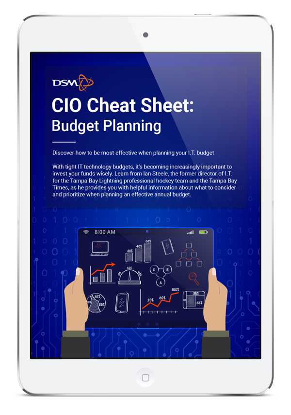 it budget planning best practices from a top tampa it director