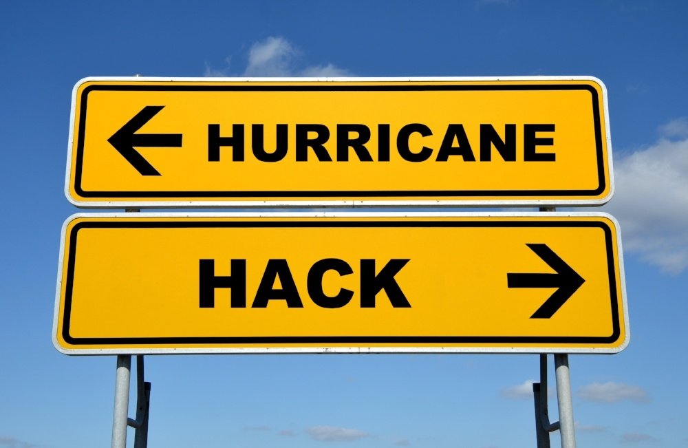 Threats to Your Organization: Hurricanes and Hacks - Featured Image