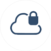 Private Cloud Icon IT Infrastructure
