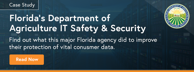Florida Department of Agriculture Data Security Case Study